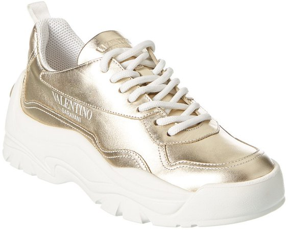 Chunky Leather Sneaker