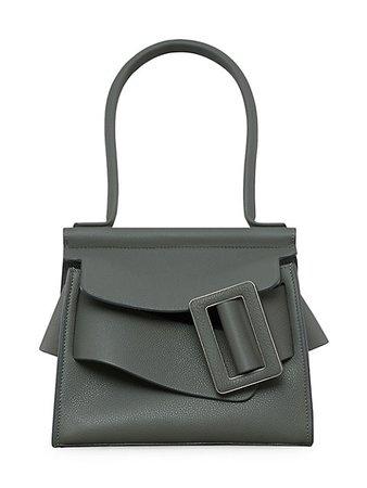 Boyy Karl Soft Leather Top Handle Bag   SaksFifthAvenue