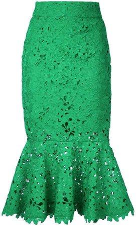 Bambah lace mermaid skirt
