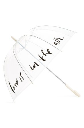 kate spade new york polka dot clear umbrella | Nordstrom