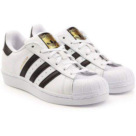 Adidas Originals Leather Superstar Sneakers