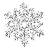 green snow flakes clip art - Clip Art Library