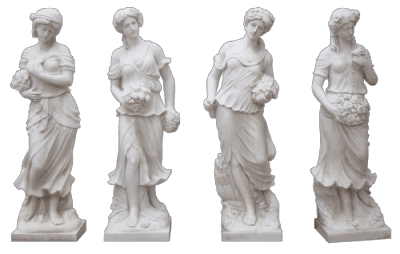 White Marble Statue png