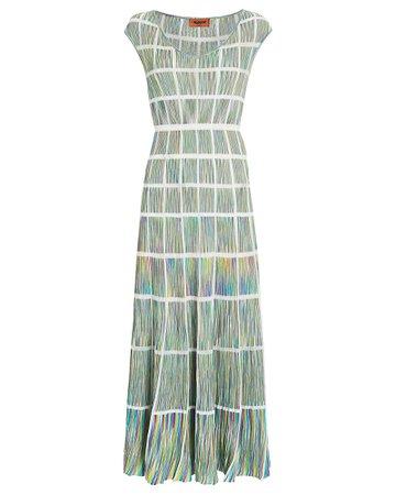Missoni Knit Window Pane Midi Dress | INTERMIX®