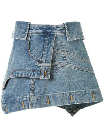 Alexander Wang Fitted Mini Skirt - Farfetch