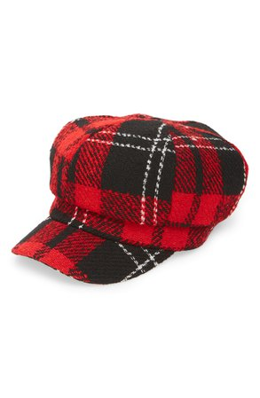 Topshop Lumberjack Baker Boy Hat | Nordstrom