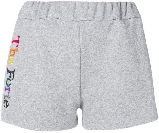 Forte Dei Marmi branded jersey shorts