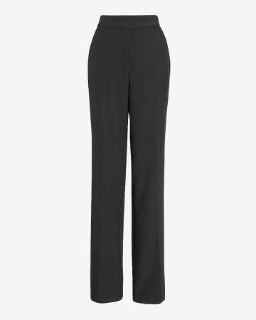 Super High Waisted Supersoft Twill Curvy Trouser Pant