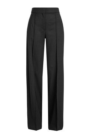 Wide Leg Wool Pants Gr. US 8