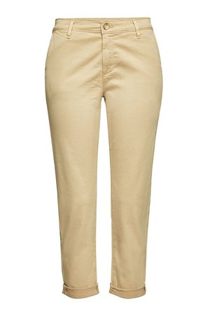 AG Jeans - Caden Cropped Chinos - beige