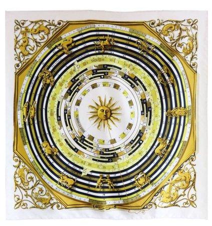 Hermes Astrology Silk Scarf