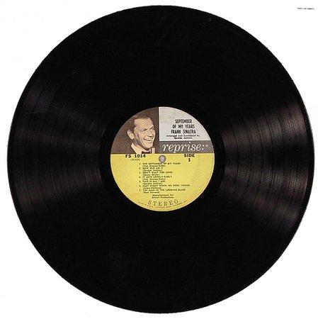 Frank Sinatra Vinyl record