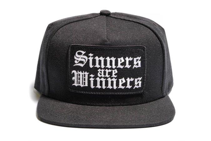Sinners Are Winners - Snapback Hat – Blackcraft Cult