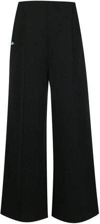 logo strip track trousers
