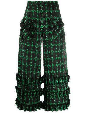 Loulou Cropped wide-leg Trousers - Farfetch