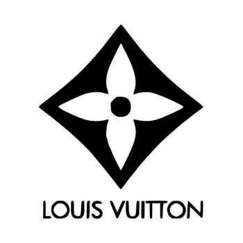 Louis Vuitton Company Logo Decal Sticker