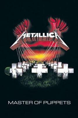 Metallica Poster | Master of puppets | Metallica Poster | EMP