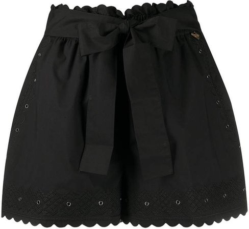Twin Set embroidered detail shorts