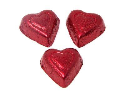 Milk Chocolate Flavored Hearts 24lb - Palmer - 701404