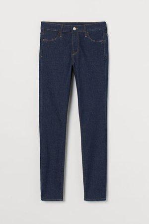 Skinny Regular Ankle Jeans - Blue