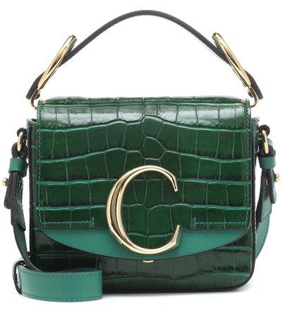 Chloé C Mini Leather Shoulder Bag | Chloé - mytheresa