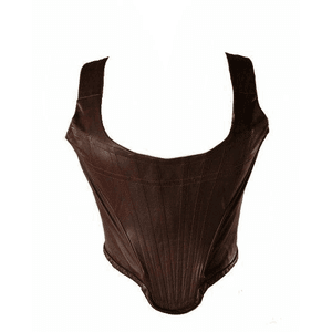 LEATHER VEST TOP PNG