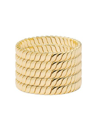 Roxanne Assoulin Smooth Moves Bracelet Set Of 5 - Farfetch