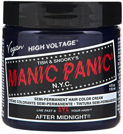 •• Manic Panic - Hair Dye •• After Midnight ••