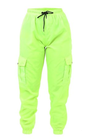 lime green cargo pants