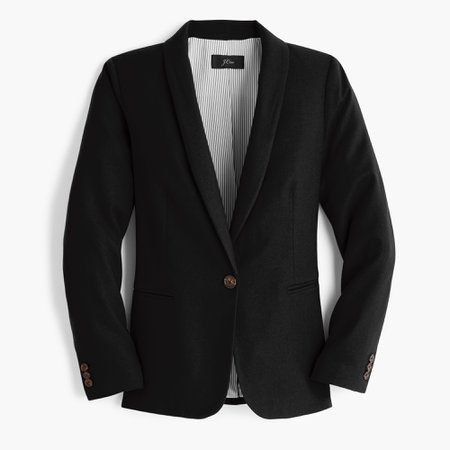 J.Crew: Parke Blazer In Wool Flannel For Women