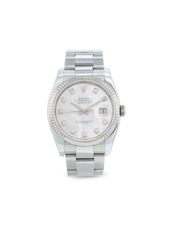 Rolex Pre-owned Datejust 36 Mm Klocka Från 2009 - Farfetch