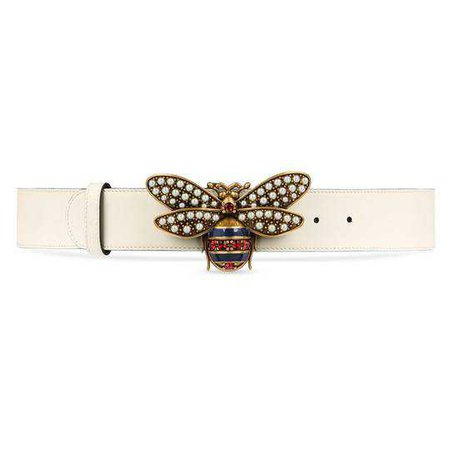 Queen Margaret leather belt - Gucci Women's Belts 4996370GUDT9075