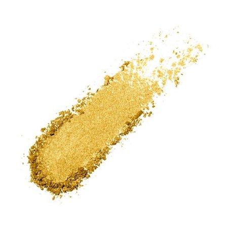 gold make up swatch