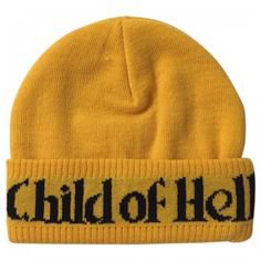 (3) Pinterest - Child of Hell Beanie NEW Style Gold SUPREME (98 NZD) ❤ liked on Polyvore featuring hats, accessories and beanie | Polyvore