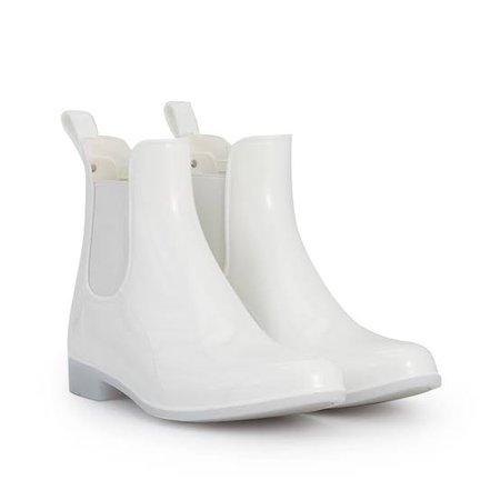 white rain boots - Google Search