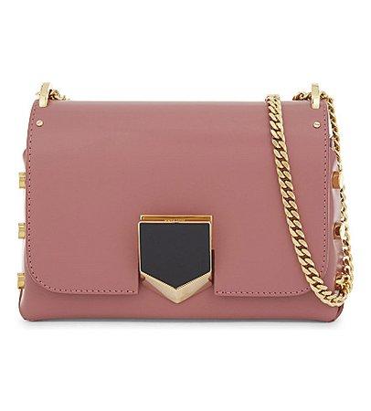 shoulder bag rose jimmy choo -