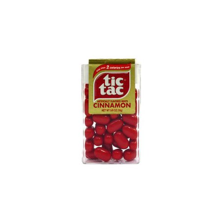 Red tic tacs