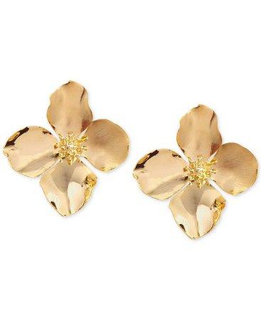 Zenzii Flower Stud Earrings & Reviews - Earrings - Jewelry & Watches - Macy's