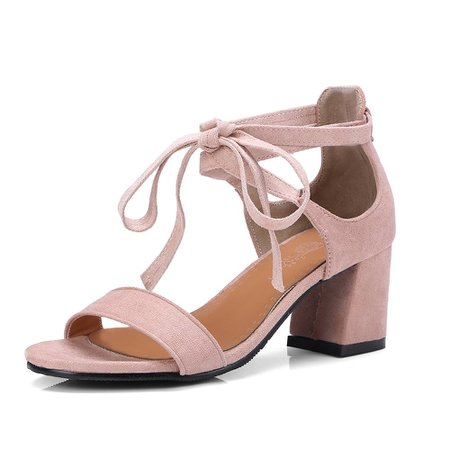 [Moricore Blog] The New 18-27 Round Rough Heels All-Match Strap Sandals   Rosegal