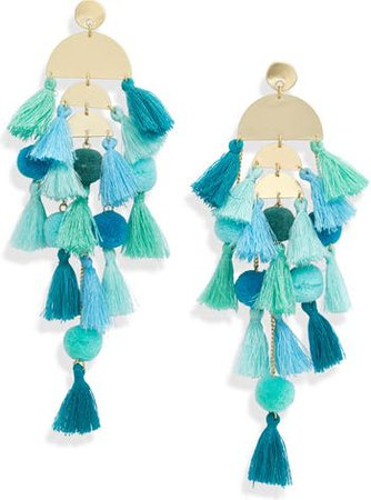 Stella + Ruby Calypso Tassel Earrings | Nordstrom