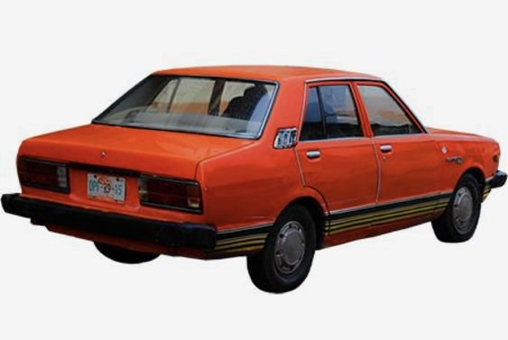 orange car png filler
