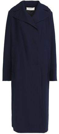 Wool-canvas Coat