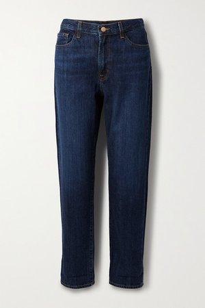 Tate Boyfriend Jeans - Mid denim