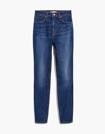 Women's Curvy High-Rise Skinny Jeans in Moreaux Wash | Madewell