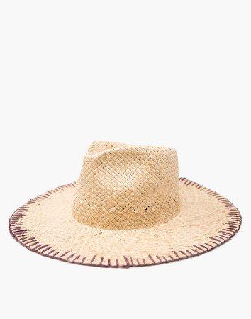 WYETH Whip-Stitched Straw Naomi Hat