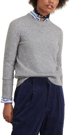 Claire Wool & Cashmere Crewneck Sweater
