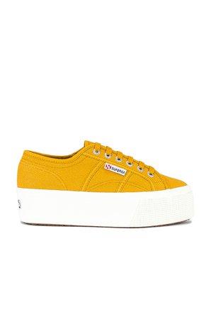 Superga 2790 Acotw Sneaker in Yellow Golden   REVOLVE