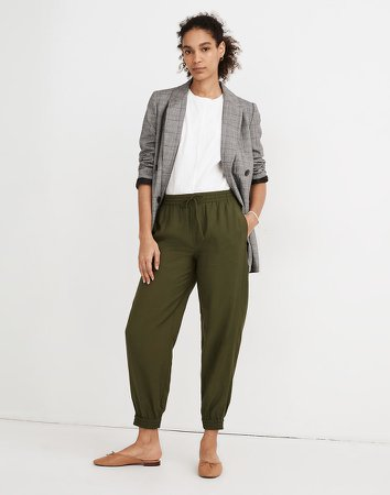 Drawstring Track Trousers
