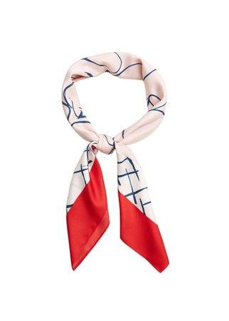 MANGO Printed scarf