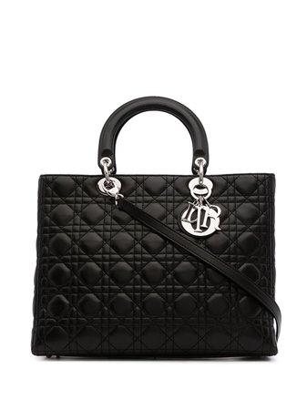 Christian Dior pre-owned Cannage Lady Dior bag - FARFETCH